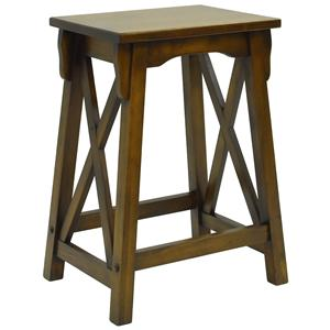 """Carolina Chair and Table Counter Height Dining 24"""" Newport Counter Stool"""