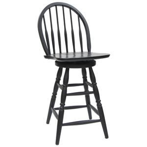 """Carolina Chair and Table Counter Height Dining 24"""" Windsor Counter Stool"""