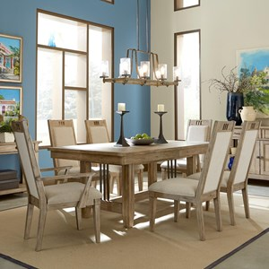 Relaxed Vintage 7 Pc Dining Set