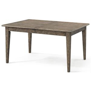 """'Willow Bank' Dining Room Table with 1 18"""" Leaf"""