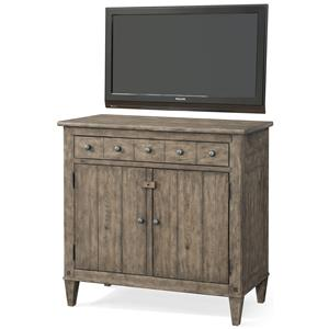 'High Water' Media Chest with 1 Drawer