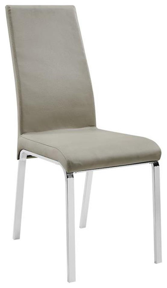Dining Chairs Leather Side Chair by Casabianca at Baer's Furniture