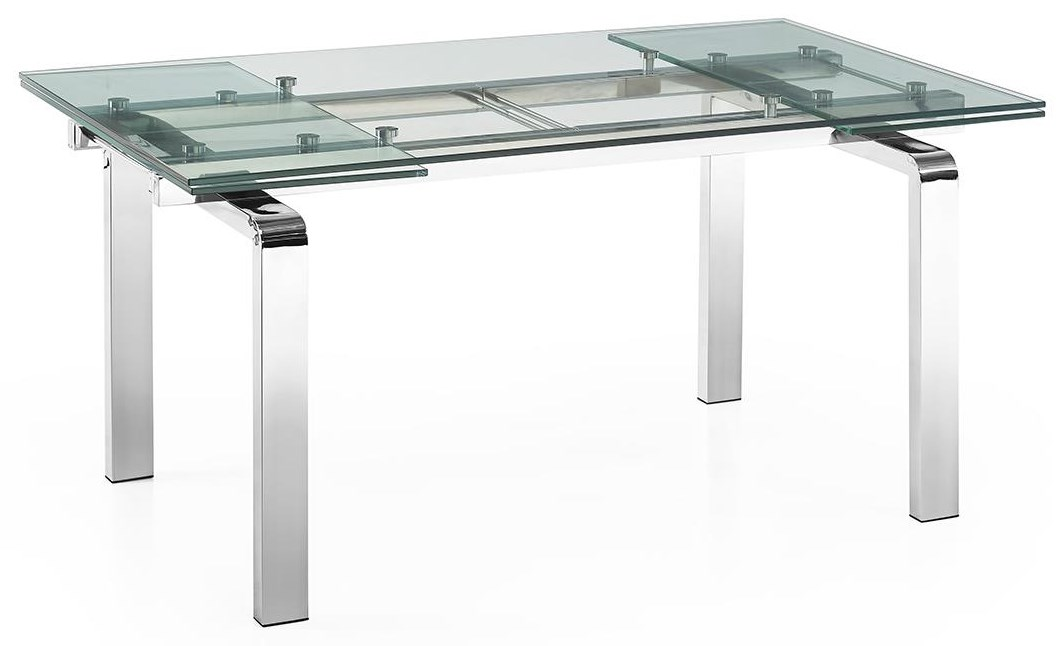 Dining Tables Glass Extension Table by Casabianca at Baer's Furniture