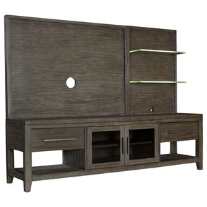 "80"" Entertainment Console and TV Panel"