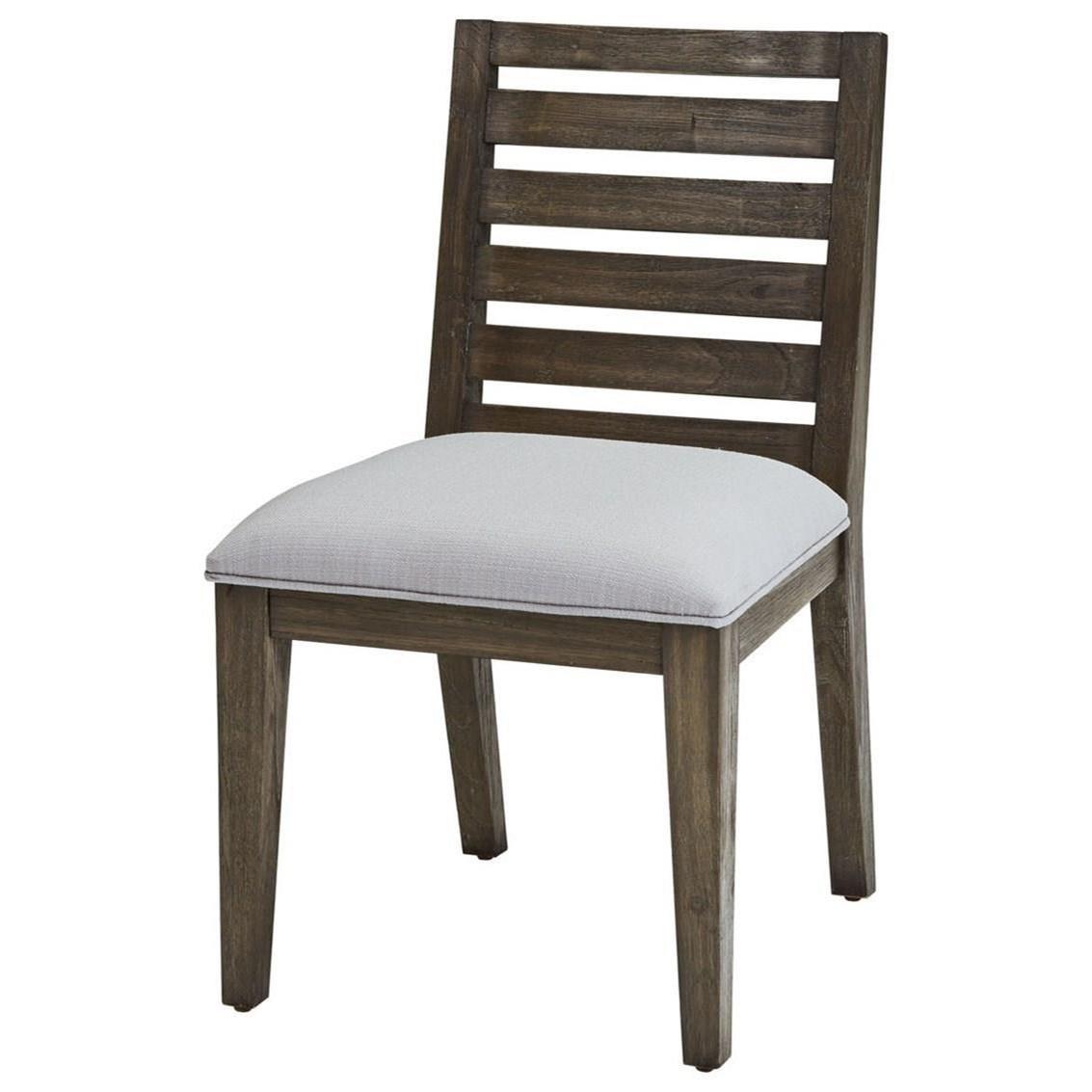 District Slat Back Side Chair by Belfort Select at Belfort Furniture