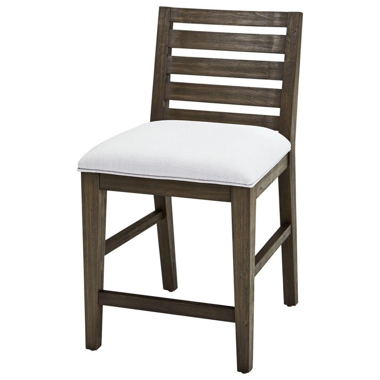 Brookdale Slat Back Café Chair at Morris Home
