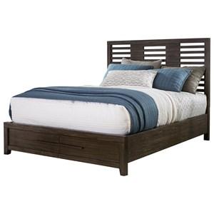 Brookdale Queen Panel Storage Bed