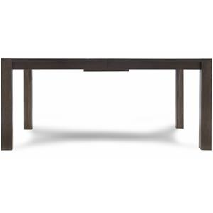 Rectangular Dining Table with Block Feet