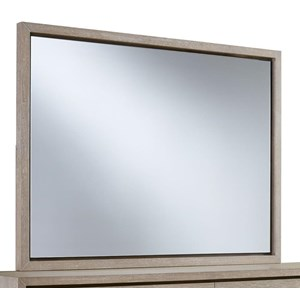 Contemporary Framed Dresser Mirror