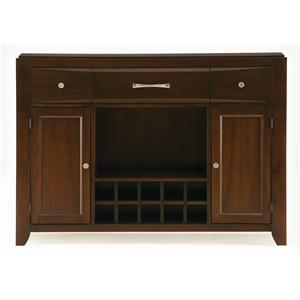 Casana Rodea Sideboard with Leaf Storage