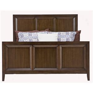 Casana Vista  Wood Panel Bed