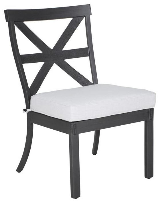 Antler Hill Armless Dining Chair by Castelle by Pride Family Brands at Johnny Janosik