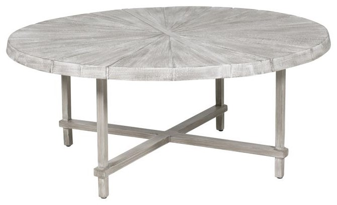 Antler Hill 42 inch Round Chat Table by Castelle by Pride Family Brands at Johnny Janosik