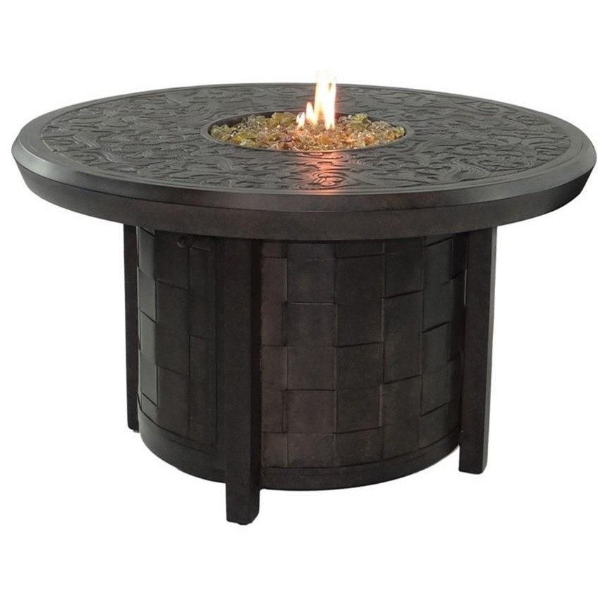 "Classical Firepits 40"" Round Firepit w/ Lid by Castelle by Pride Family Brands at Baer's Furniture"