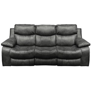 Casual Power Reclining Sofa