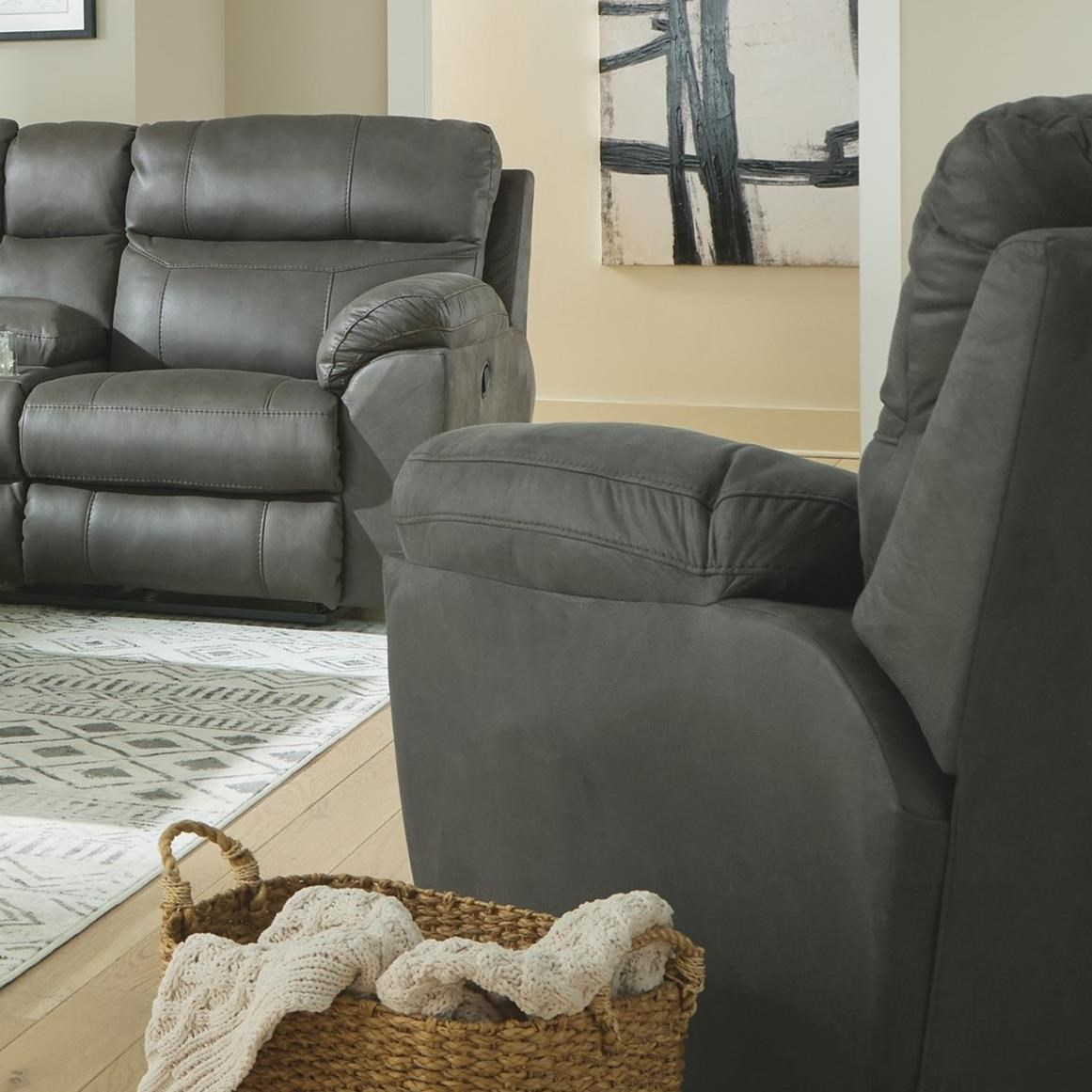 100 Atlas Recliner by Catnapper at Gill Brothers Furniture