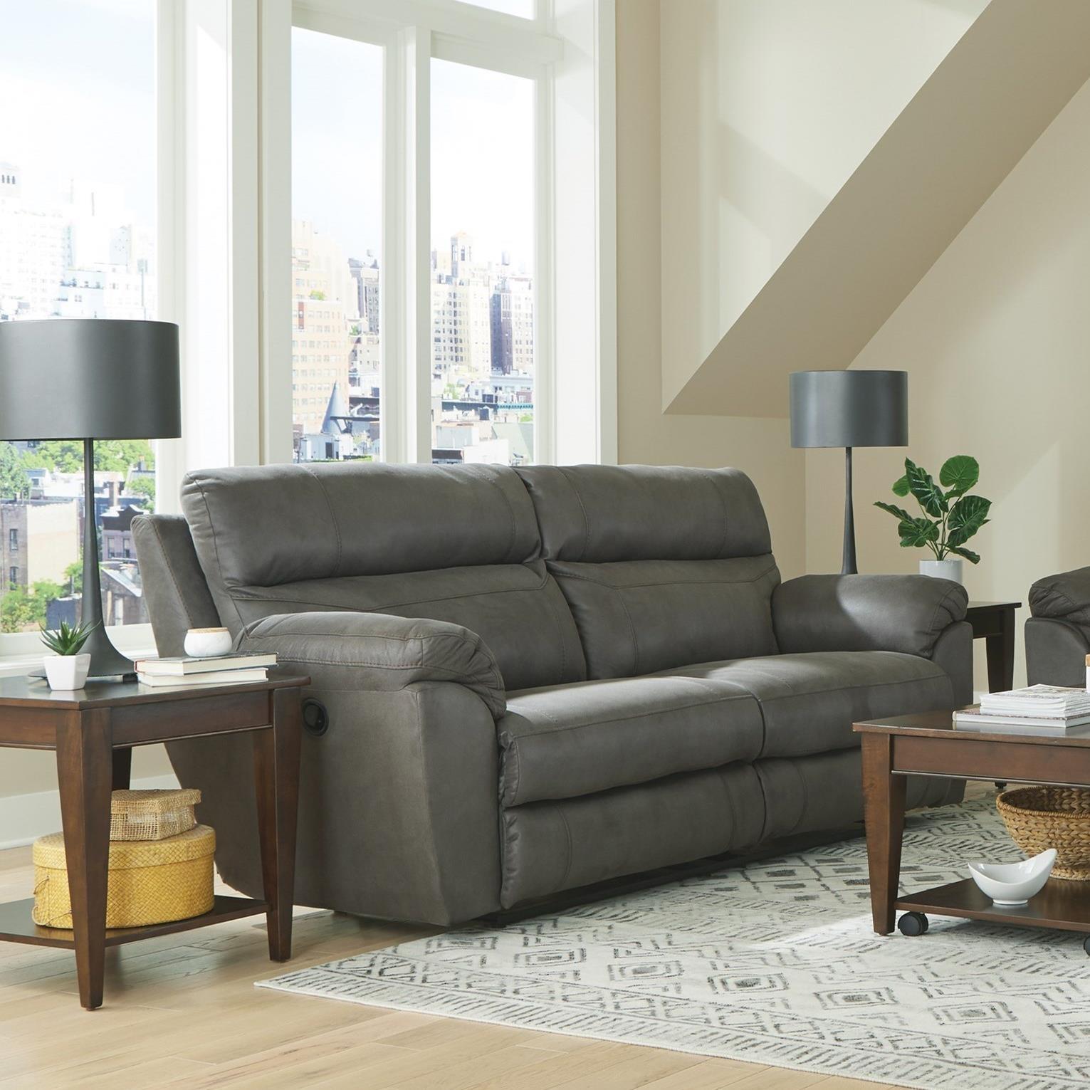 100 Atlas Reclining Sofa by Catnapper at Dream Home Interiors