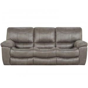 Charcoal Power Reclining Sofa