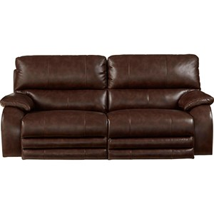 Casual Power Lay-Flat Sofa with Comfort Control Panel Technology