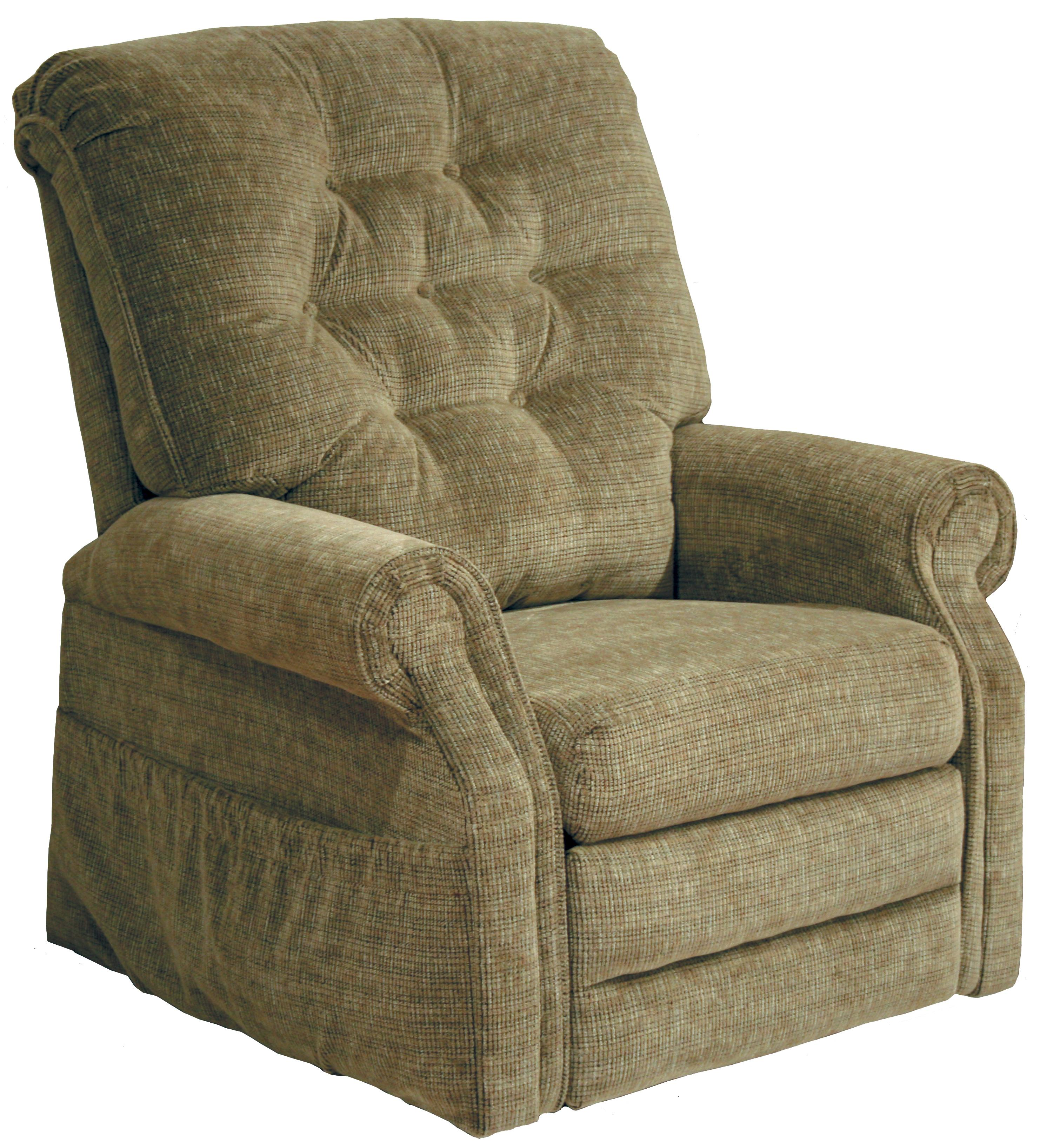 "Patriot 4824 ""Pow'r Lift"" Recliner by Catnapper at Lapeer Furniture & Mattress Center"