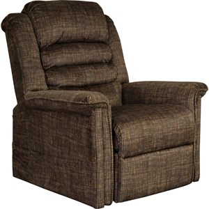 """""""Pow'r Lift"""" Full Lay-Out Chaise Recliner w/Heat and Massage"""