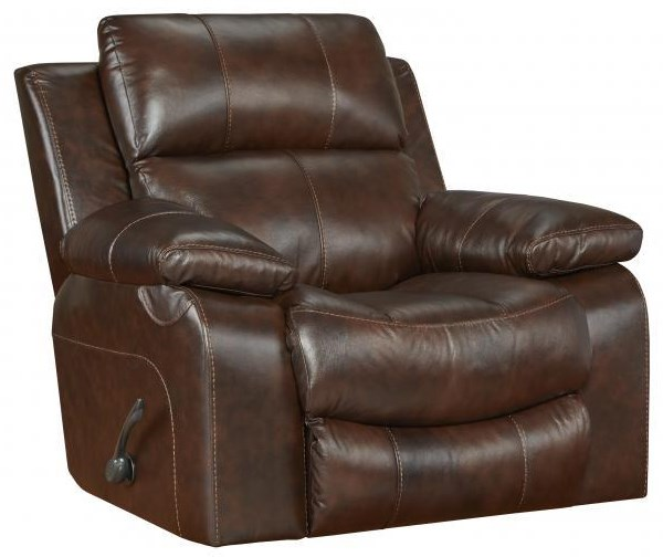 499 Power Leather Recliner by Catnapper at Furniture Fair - North Carolina