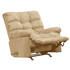 Rocker Recliner with Sensate Heat/ Massage and Magazine Pocket