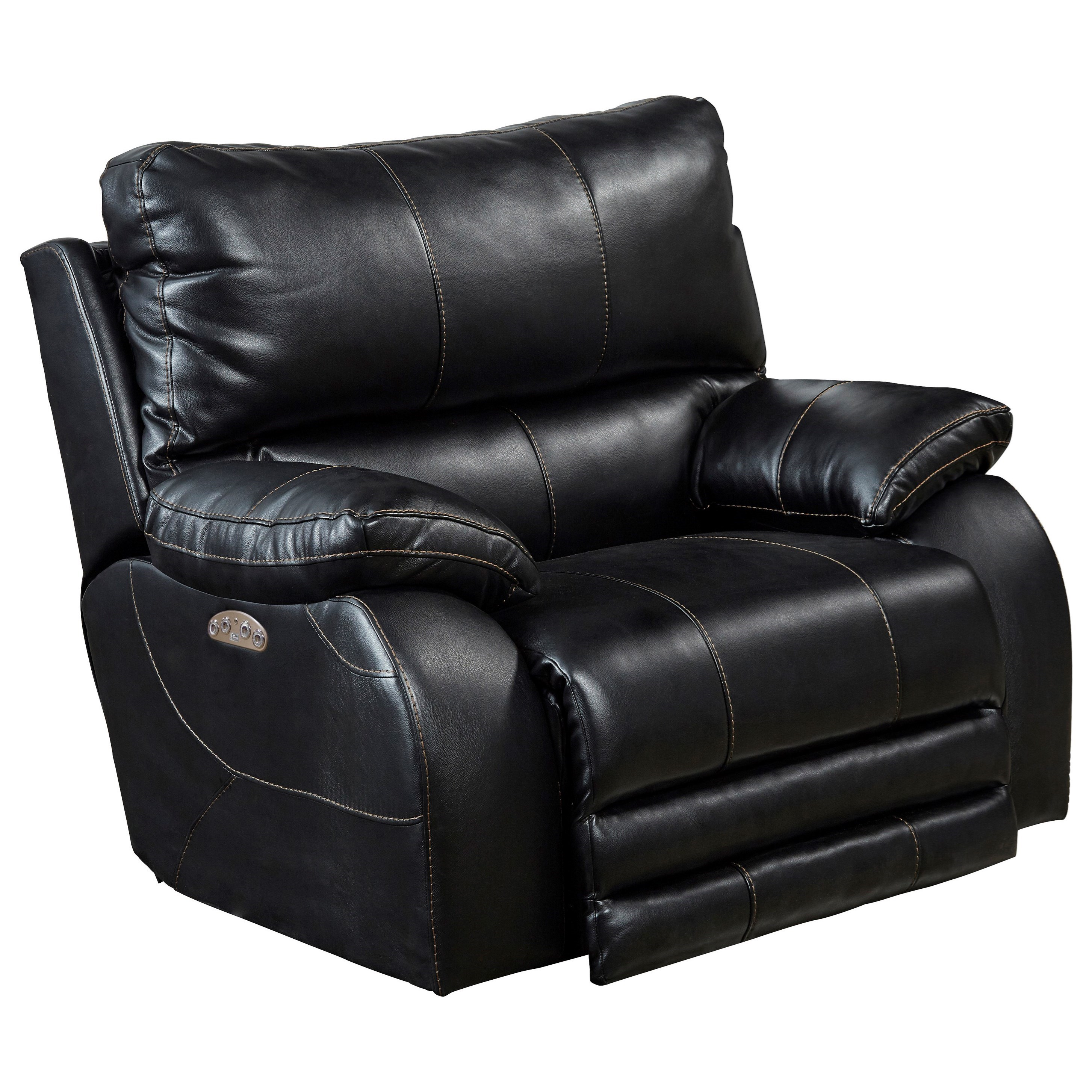 Reclining Collection Power Headrest Power Lay Flat Recliner by Catnapper at Pedigo Furniture