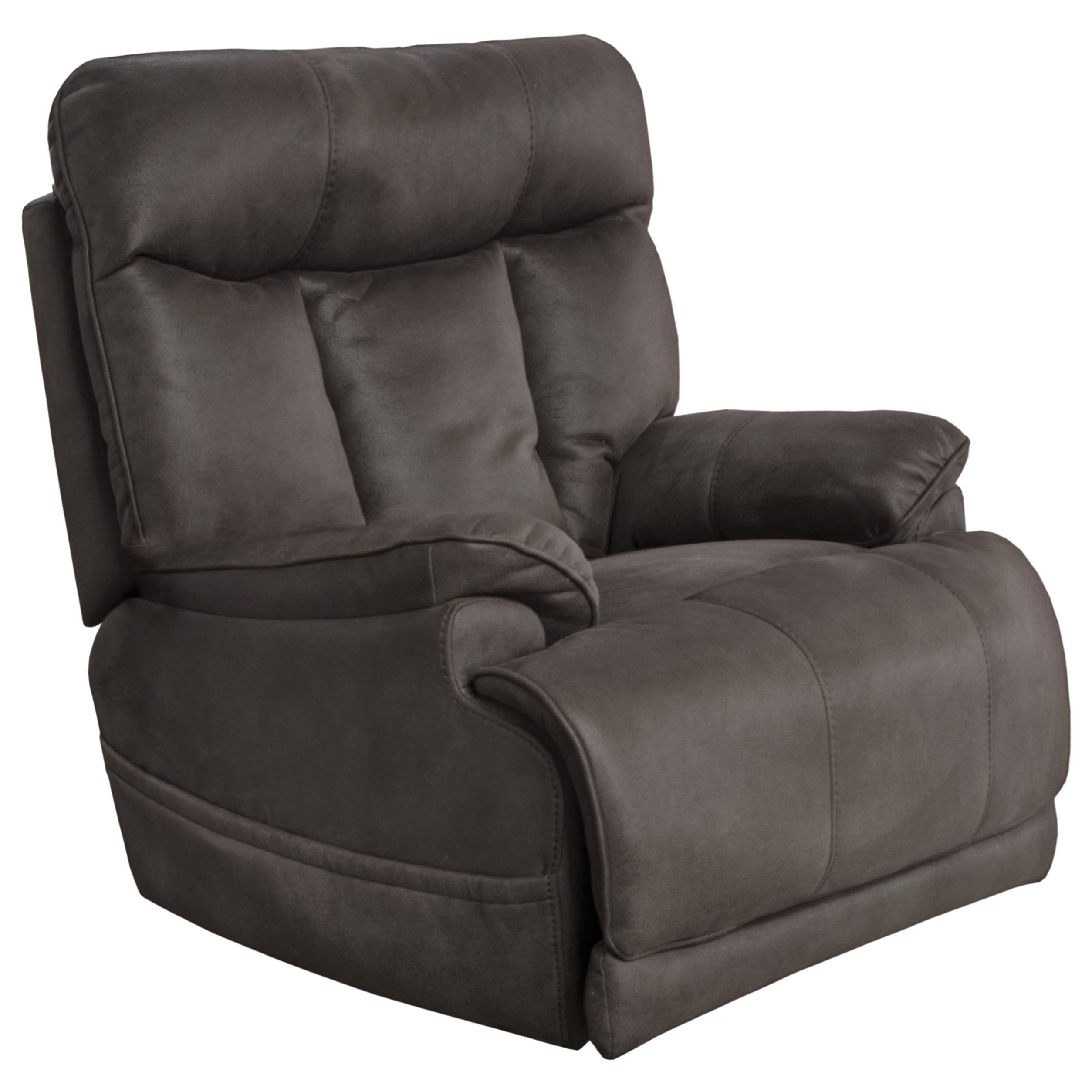 Anders Power Lay Flat Recliner by Catnapper at Lapeer Furniture & Mattress Center