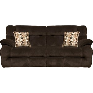 Lay Flat Reclining Sofa with Power Headrest