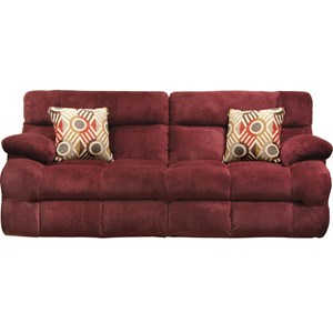 Lay Flat Reclining Sofa with Power Headrest