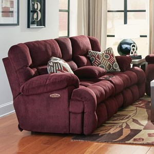 Reclining Loveseat with Power Headrest and Power Lumbar Support
