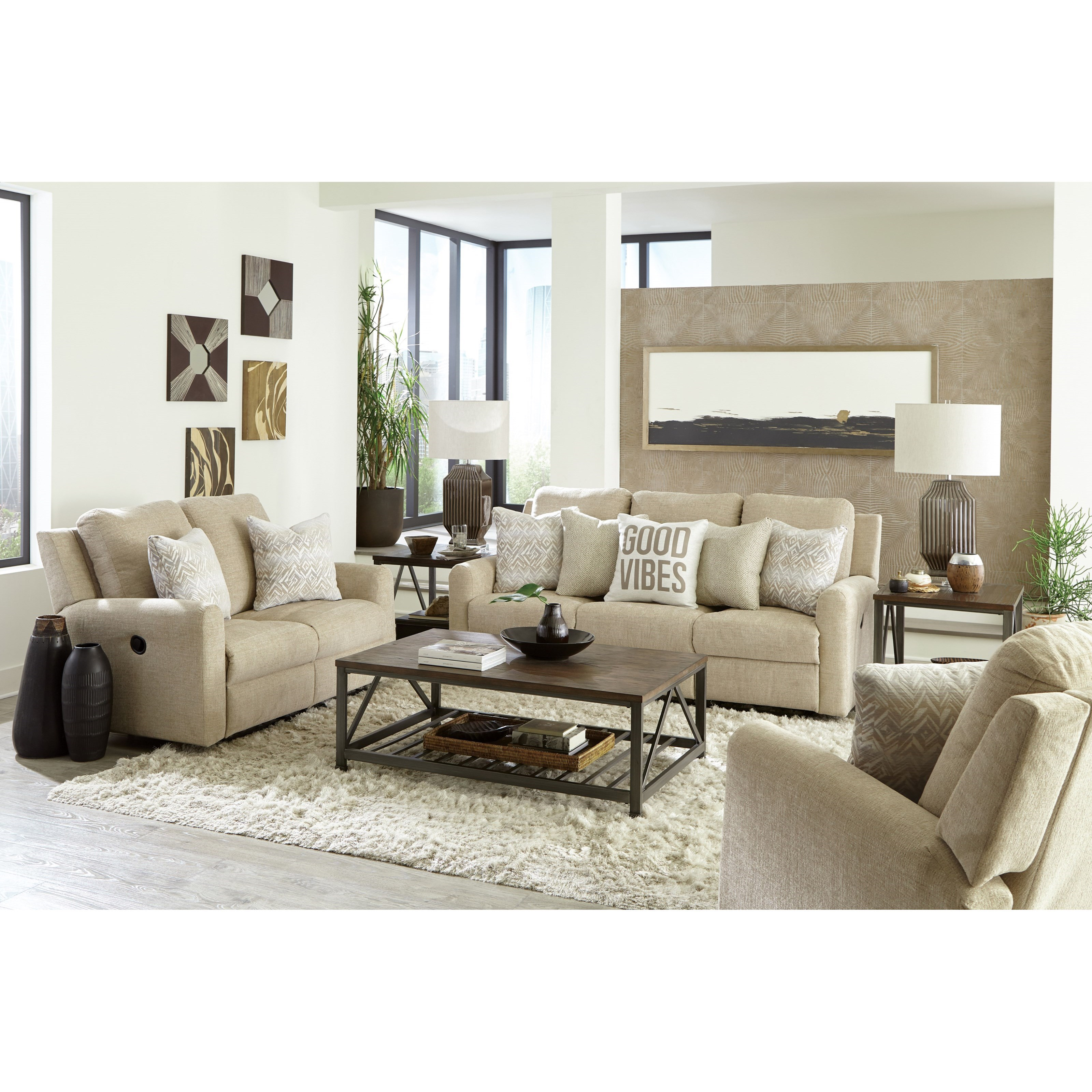 Calvin Power Reclining Living Room Group by Catnapper at Northeast Factory Direct