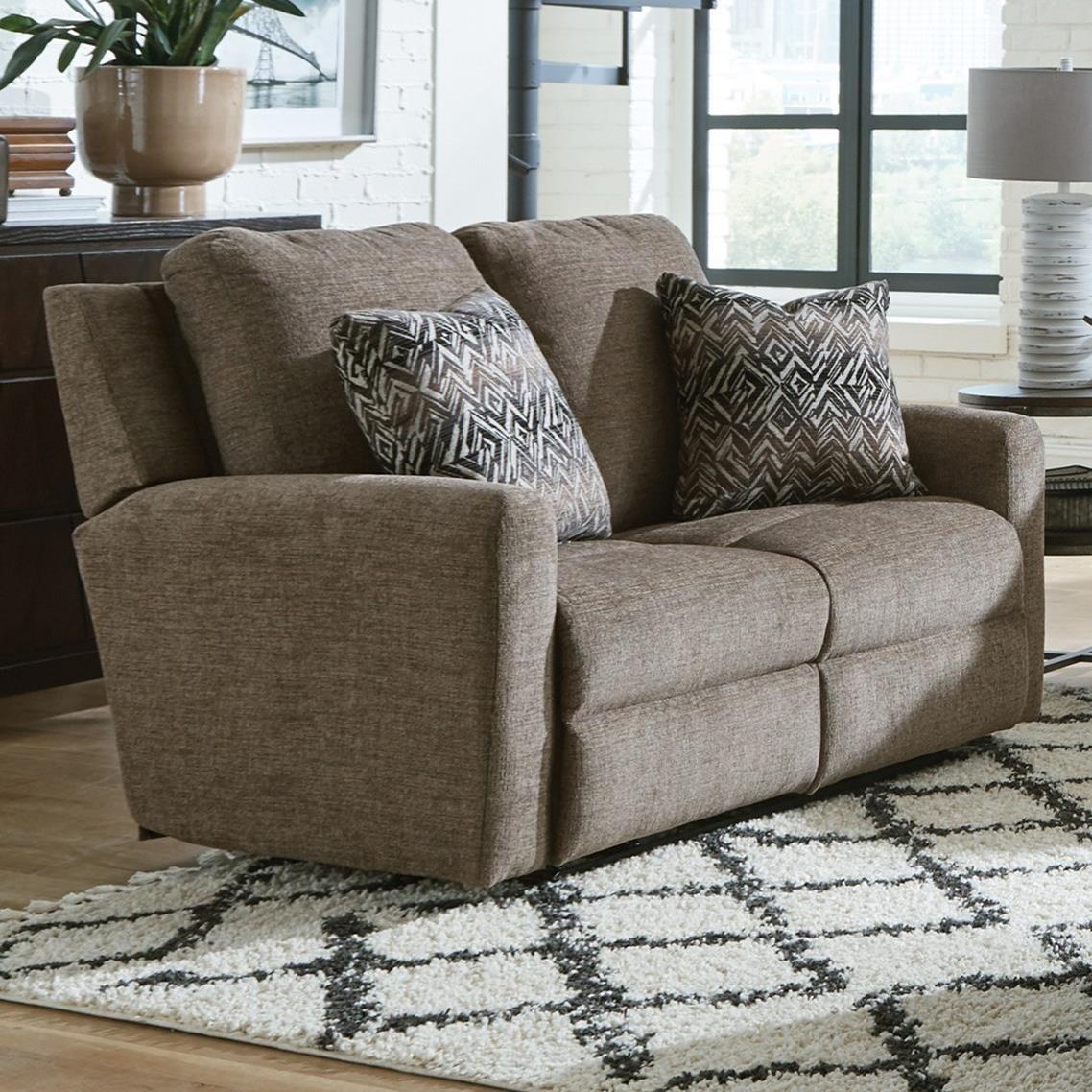 Calvin Reclining Loveseat by Catnapper at Standard Furniture