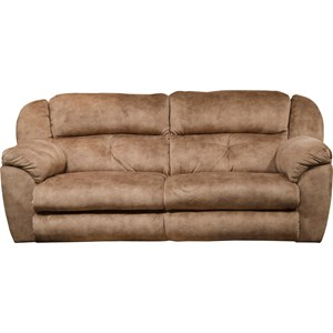 Power Lay-Flat Reclining Sofa