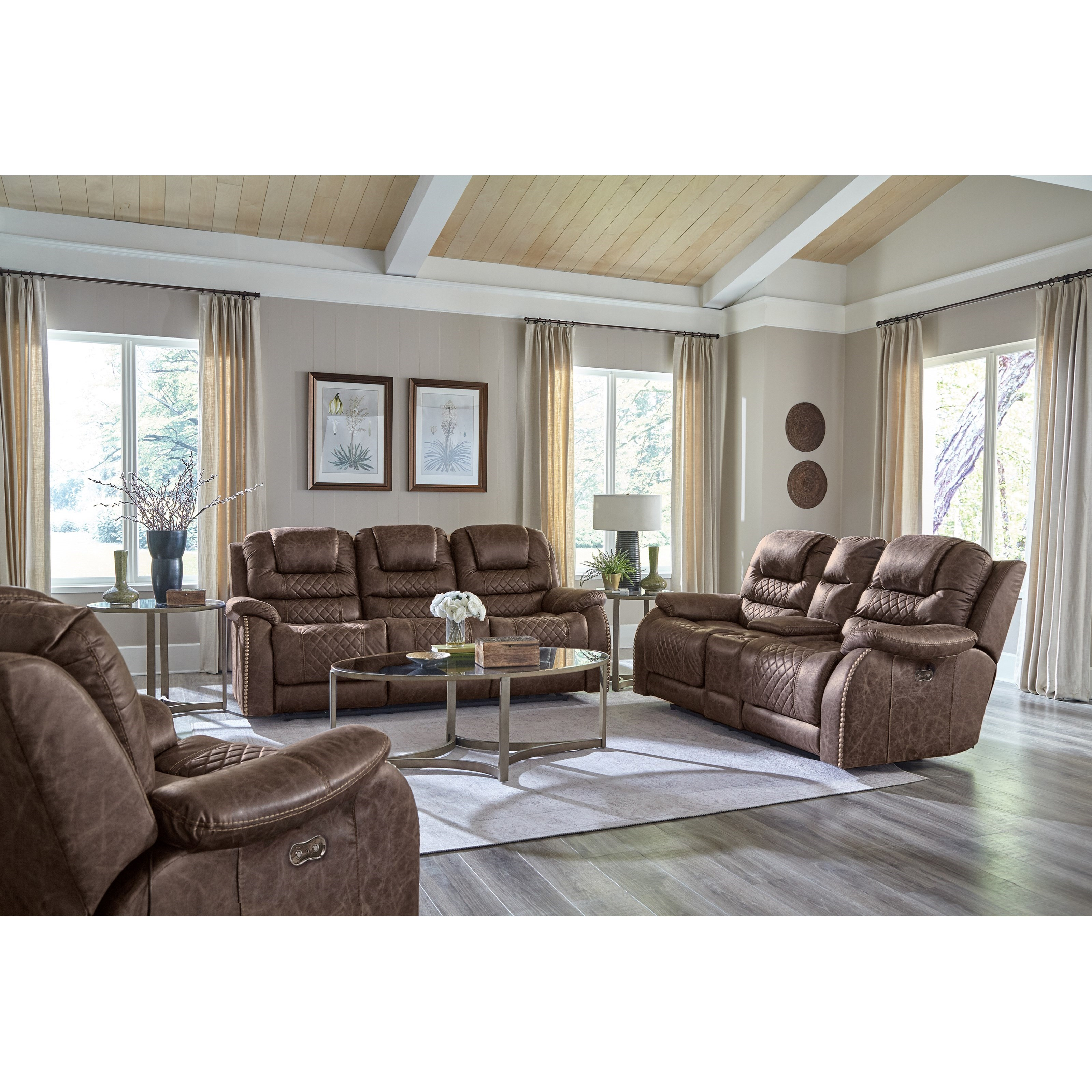 Carter Reclining Living Room Group by Catnapper at Northeast Factory Direct