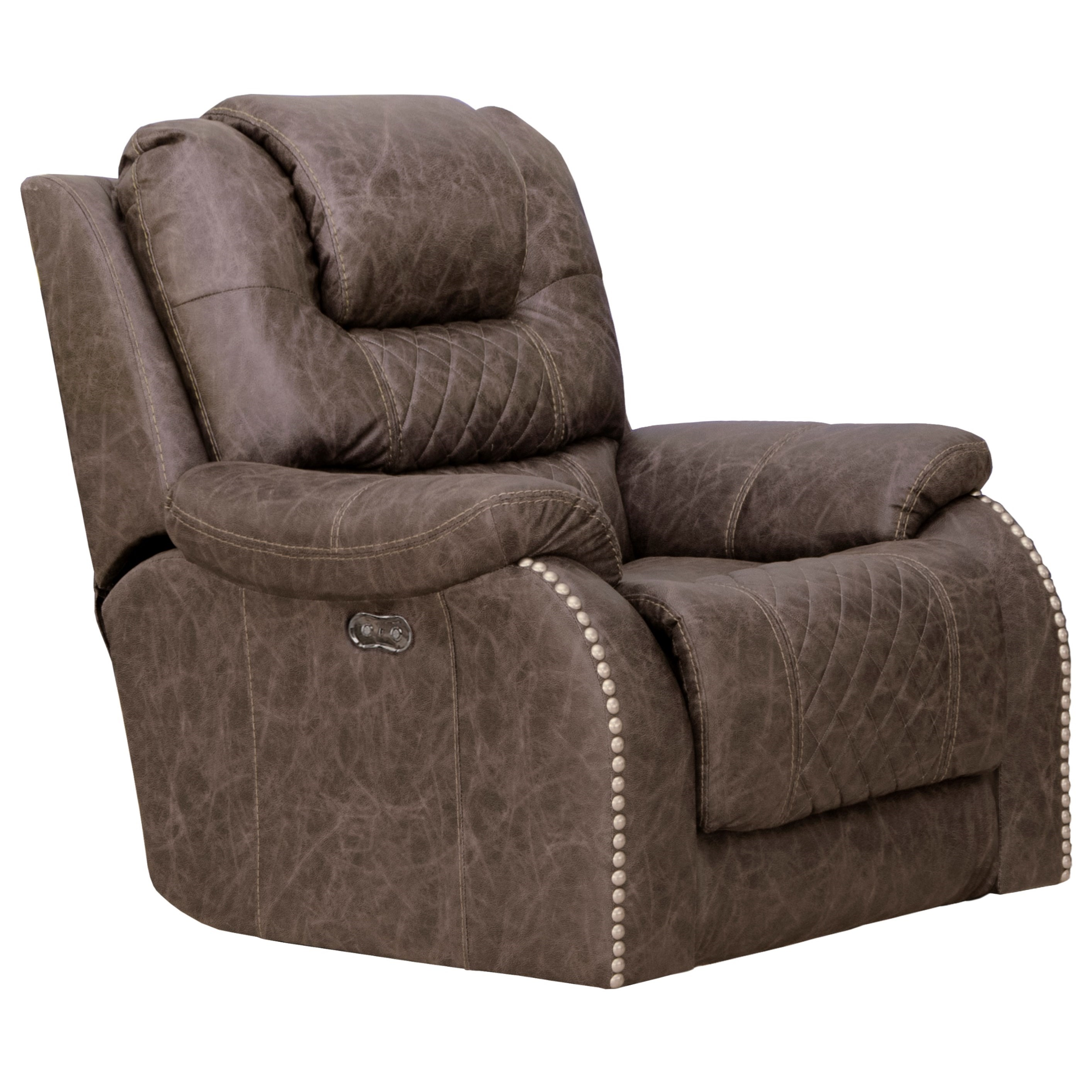 Carter Power Lay Flat Recliner by Catnapper at Northeast Factory Direct