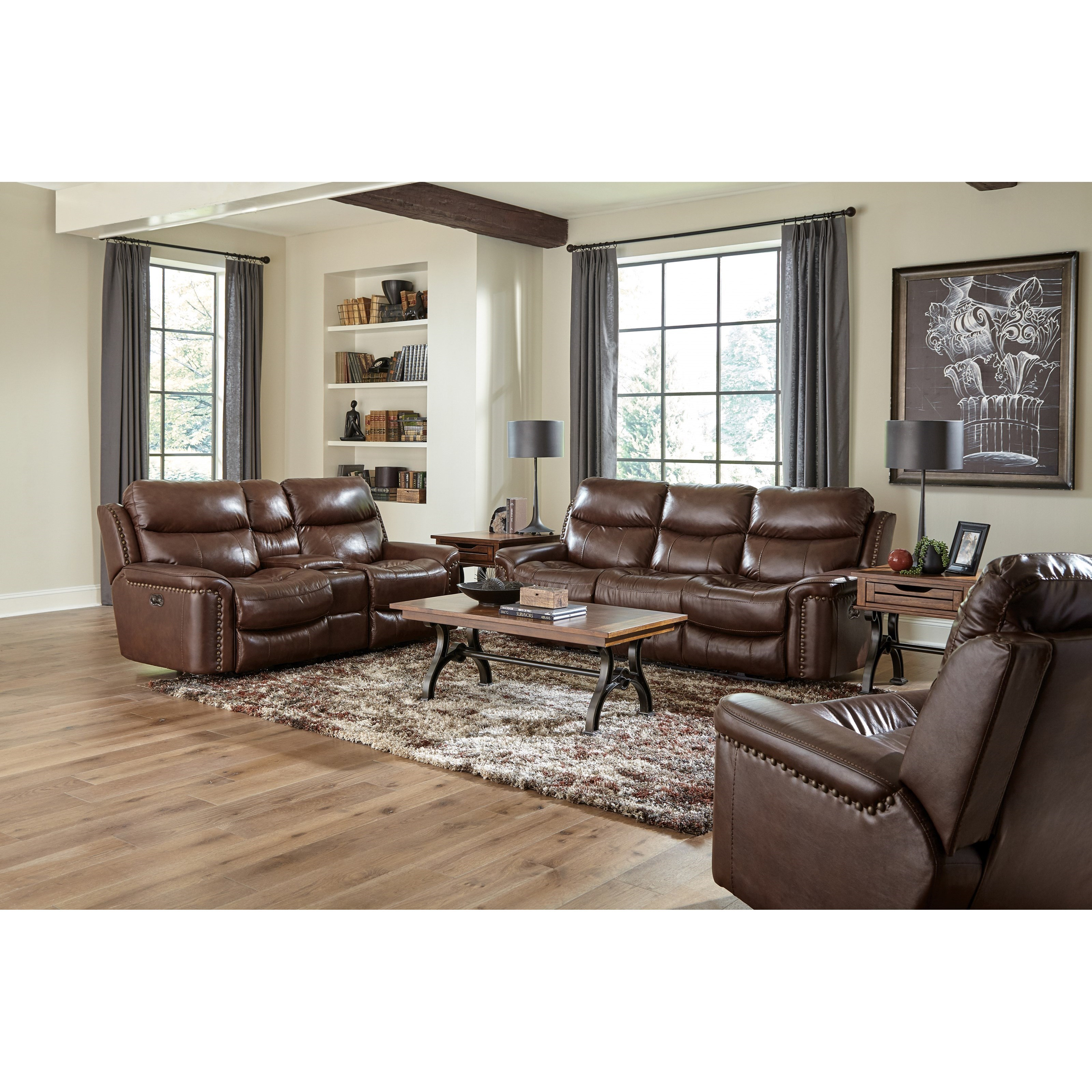 Ceretti Power Reclining Living Room Group by Catnapper at Northeast Factory Direct