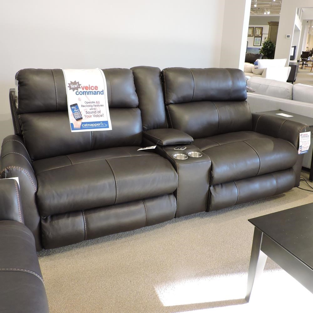 Clearance Voice Activated Sofa by Catnapper at Belfort Furniture