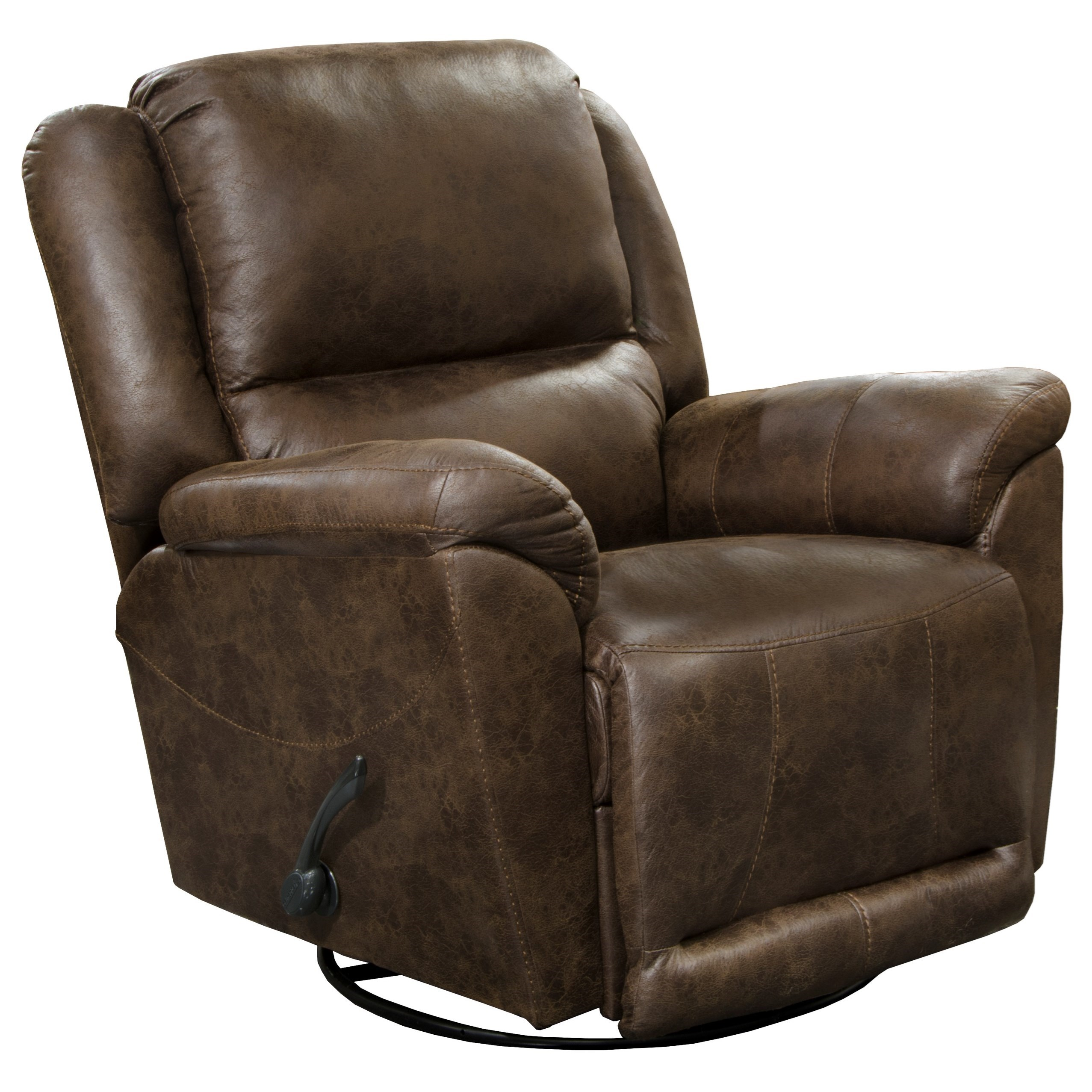 Cole Swivel Glider Recliner by Catnapper at Northeast Factory Direct