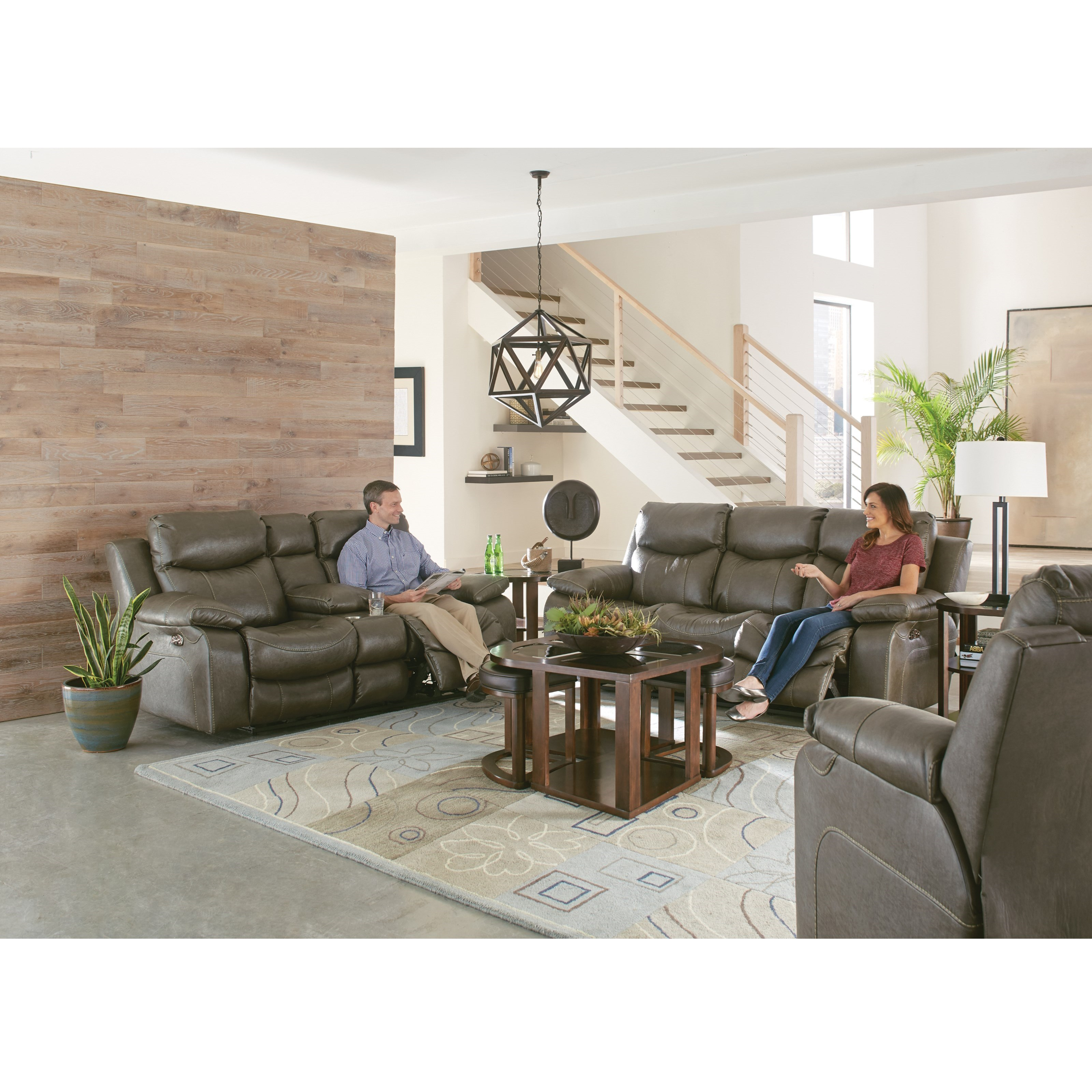 Connor Reclining Living Room Group by Catnapper at EFO Furniture Outlet
