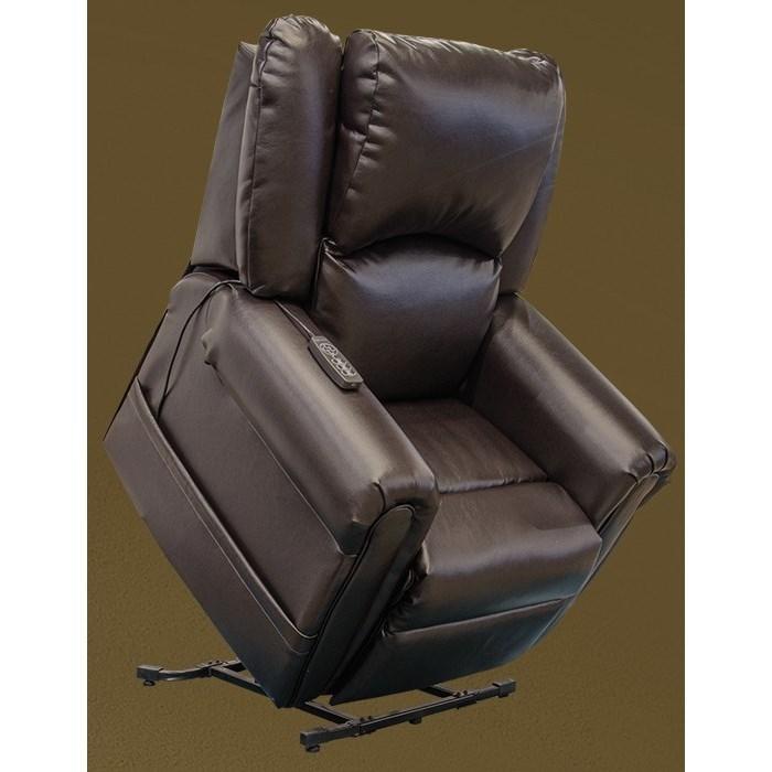 Cosset Power Lift Power Headrest Lay Flat Recliner by Catnapper at Northeast Factory Direct