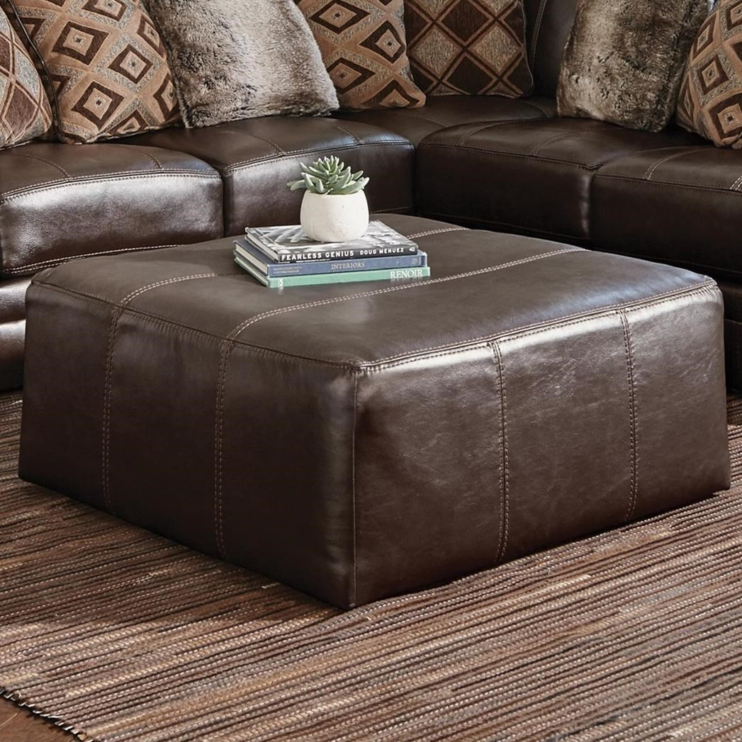 Denali Cocktail Ottoman by Jackson Furniture at Northeast Factory Direct