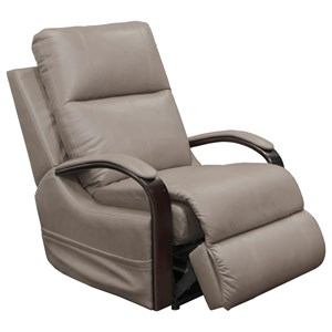 Power Lay Flat Recliner with Heat & Massage