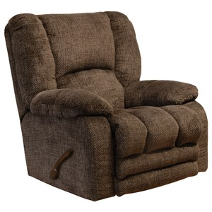 Rocker Recliner with Extended Ottoman