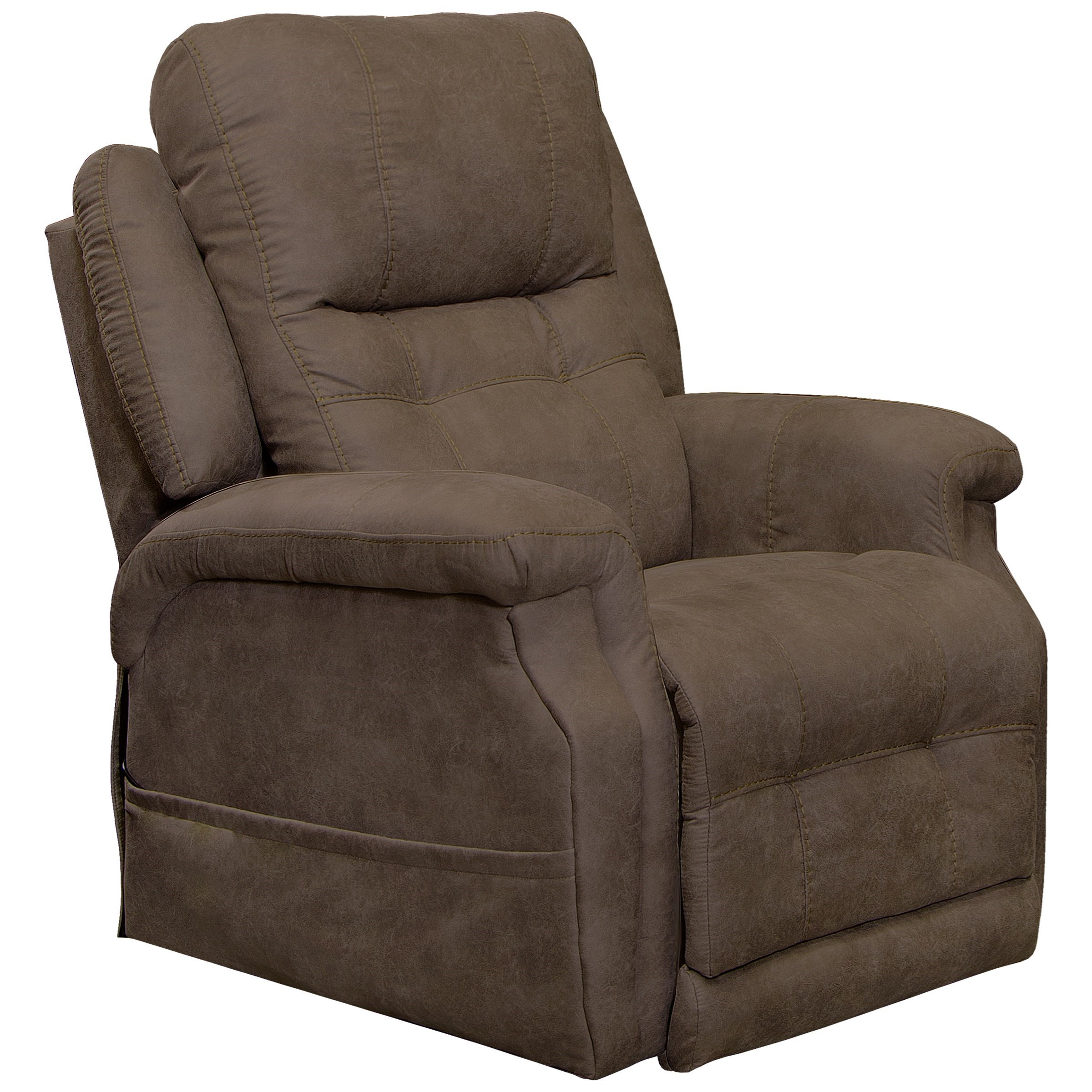Haywood  CAT Power Headrest Lay Flat Lift Recliner by Catnapper at Value City Furniture