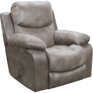 Power Wall Hugger Recliner with Pillow Arms