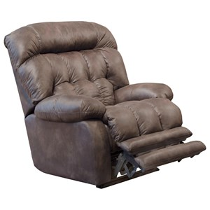 Big & Tall Lay Flat Recliner with Extended Leg Rest
