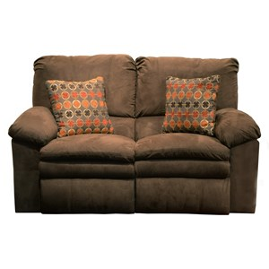 Power Reclining Loveseat with Pillow Arms