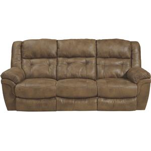 Reclining Sofa With Drop Down Table